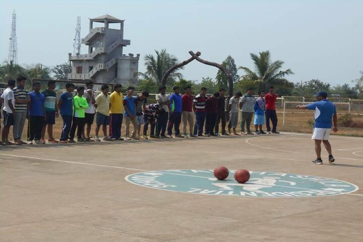 Takshashila Residential School Ganjam-Basket Ball Court