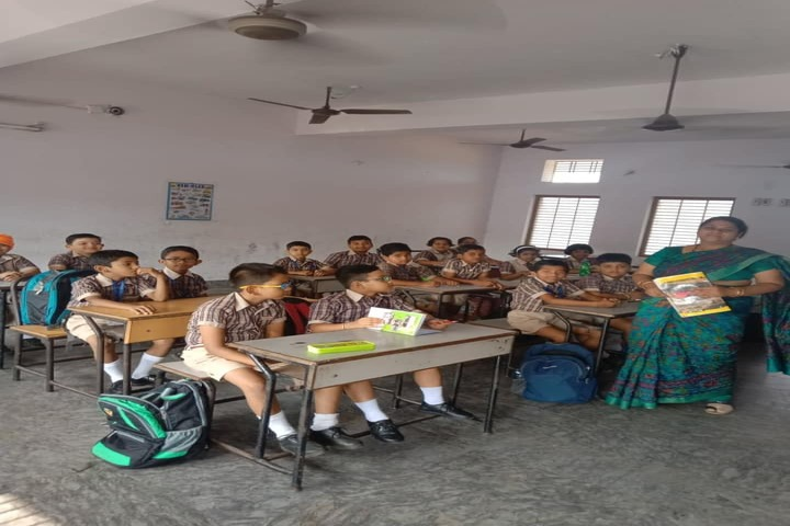 Takshashila Residential School Ganjam-Class Room