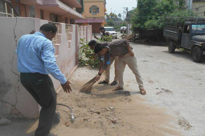 Takshashila Residential School Ganjam-Swatch Bharat