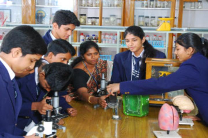 Times Scholars Gurukul khurda-Biology Lab