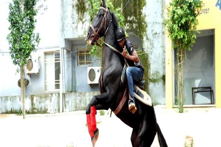 Times Scholars Gurukul khurda-Horse Riding