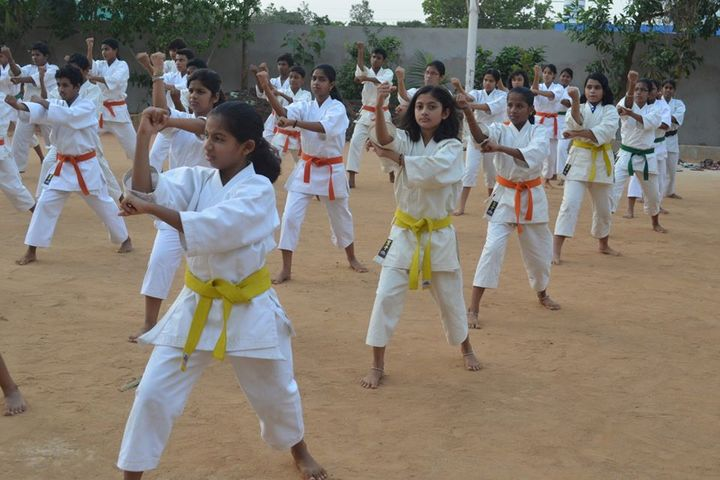 Times Scholars Gurukul khurda-Karate