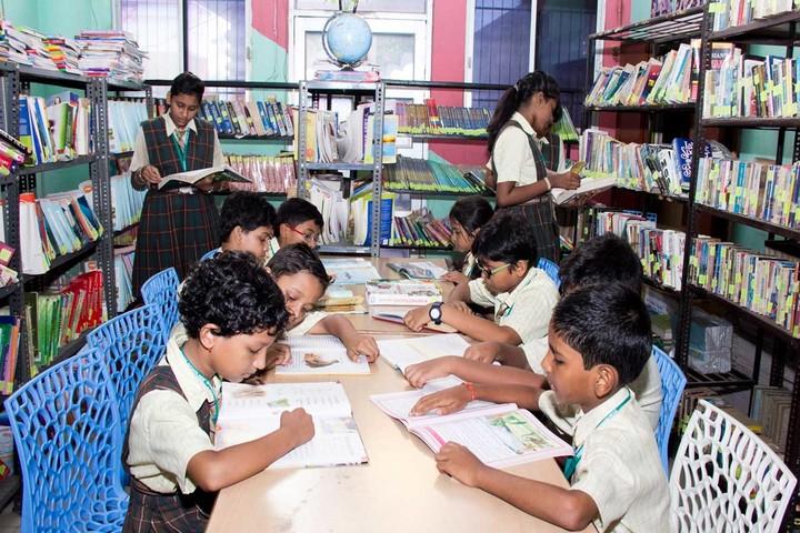 Times Scholars Gurukul khurda-Library