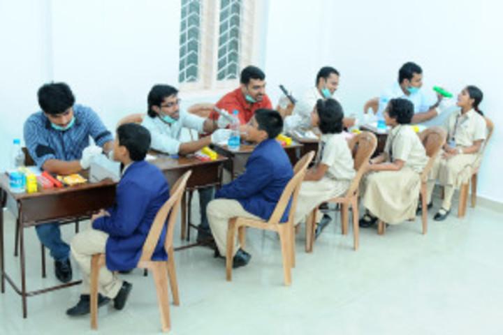 Times Scholars Gurukul khurda-Medical Checkup