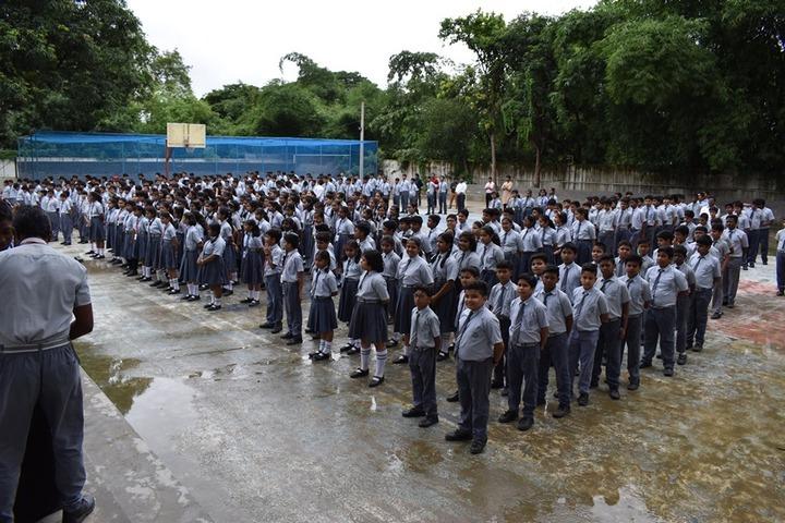 Vedic International School-Assembly