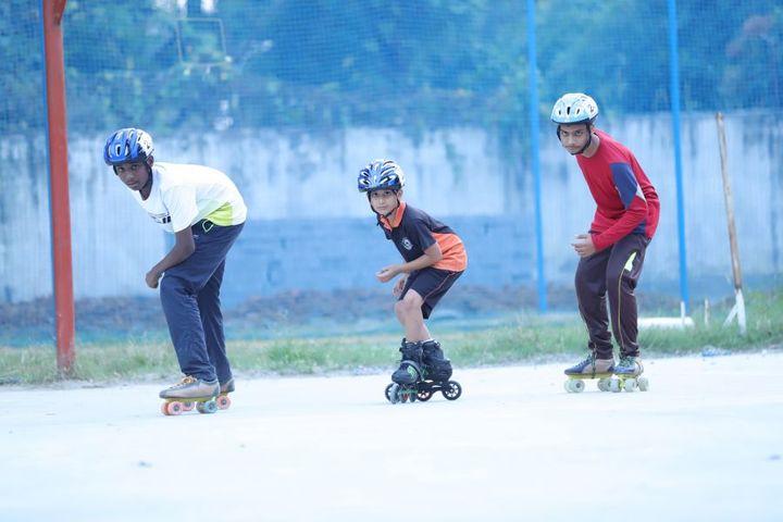 Vedic International School-Skating Area