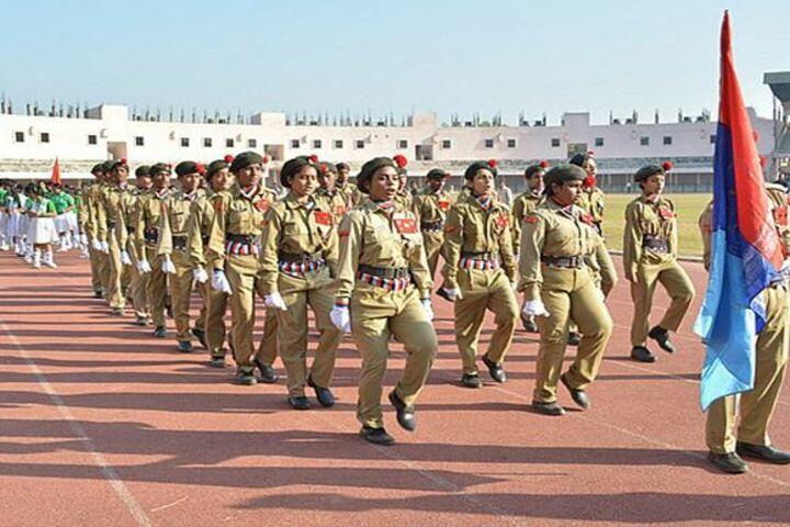 Venkateswar English Medium School-March Past