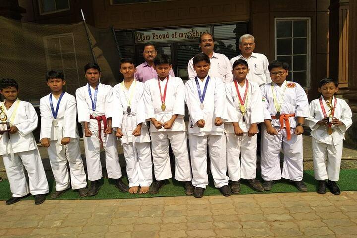 Venkateswar English Medium School-Taekwondo