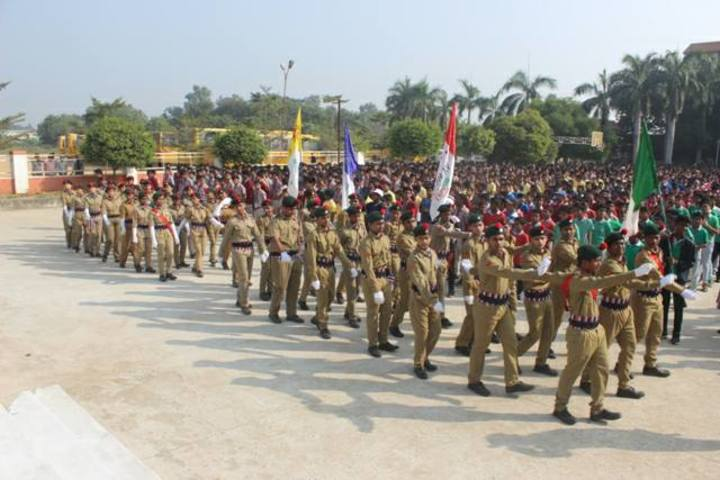 Vikash Residential School-March Past