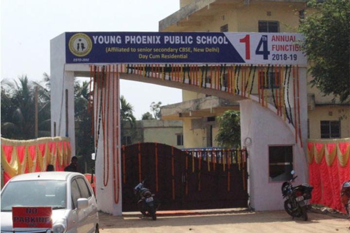 Young Phoenix Public School-Campus Entrance