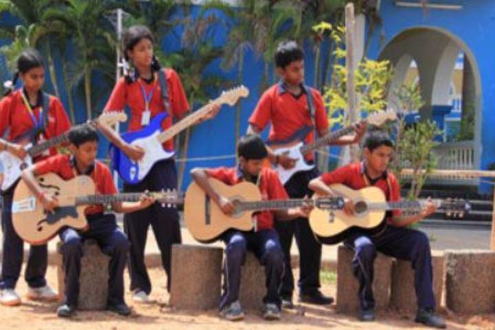Achariya Bala Siksha Mandir-Music Competition