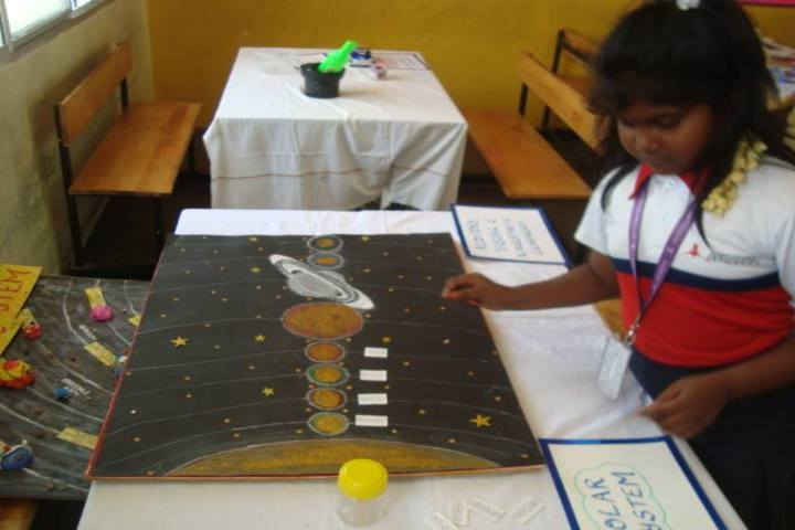 Achariya Siksha Mandir Villianur-School Exhibition