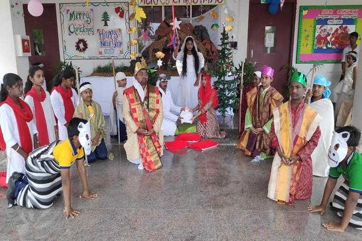 Aditya Vidyashram-Chrismas Celebration Drama