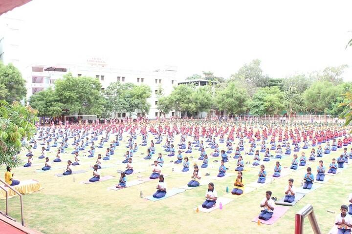Aditya Vidyashram-International Yoga Day