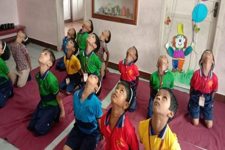 Aditya Vidyashram-Yoga Day For Primary