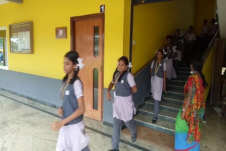 AJ Higher Secondary School-Evocation Day