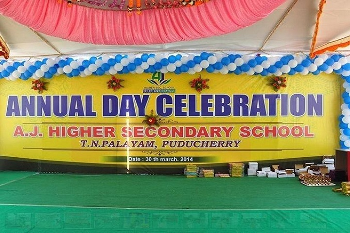 AJ Higher Secondary School - Annual Day Celebrations