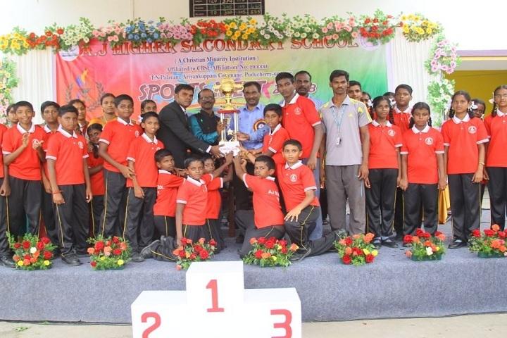 AJ Higher Secondary School - Annual Sports Meet