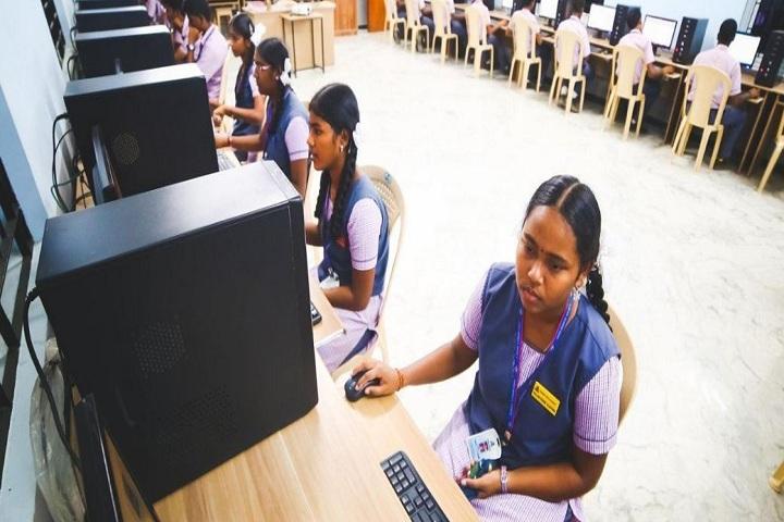 AJ Higher Secondary School - Computer Lab