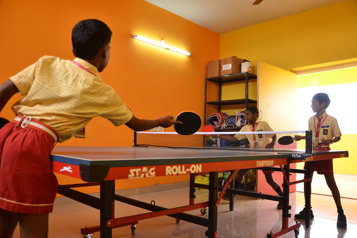 Brainy Blooms LEcole Internationale-Table Tennis