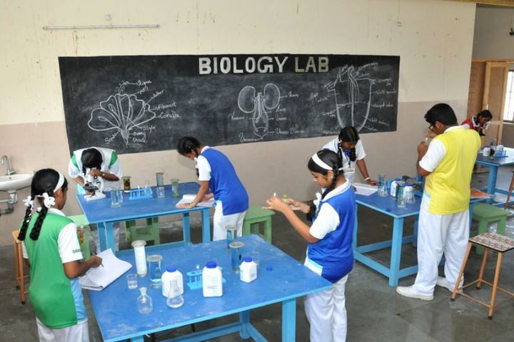 Good Shephered English School-Biology Lab