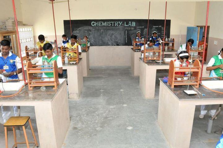 Good Shephered English School-Chemistry Lab
