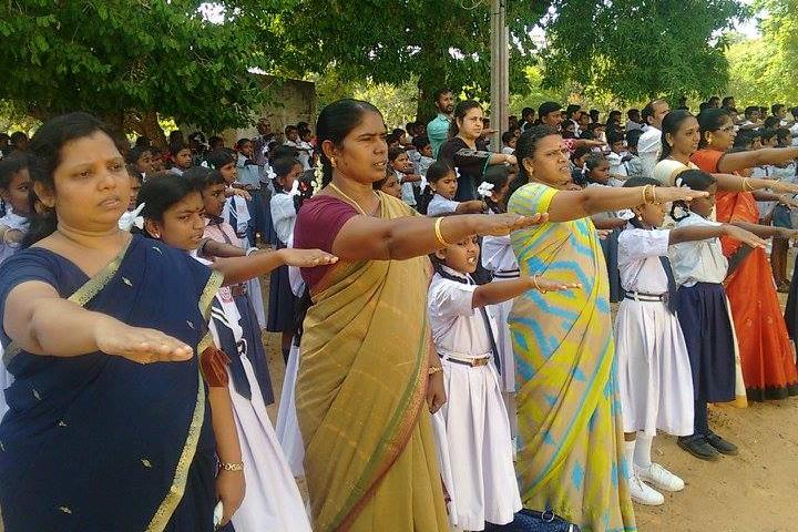 Jawahar Navodaya Vidyalaya-Oath on Foundation Day