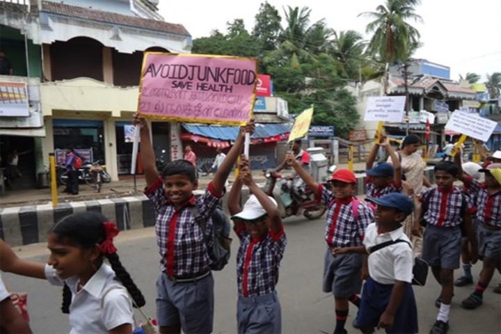 Kendriya Vidyalaya-Health Rally