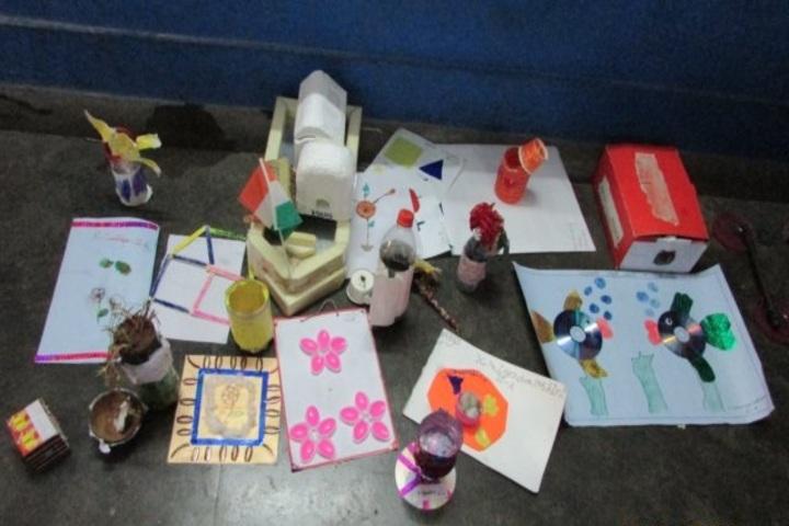 Kendriya Vidyalaya No 2-Creative Work By Primary Students