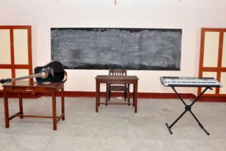 St Joseph of Cluny School-CBSE- Music Room