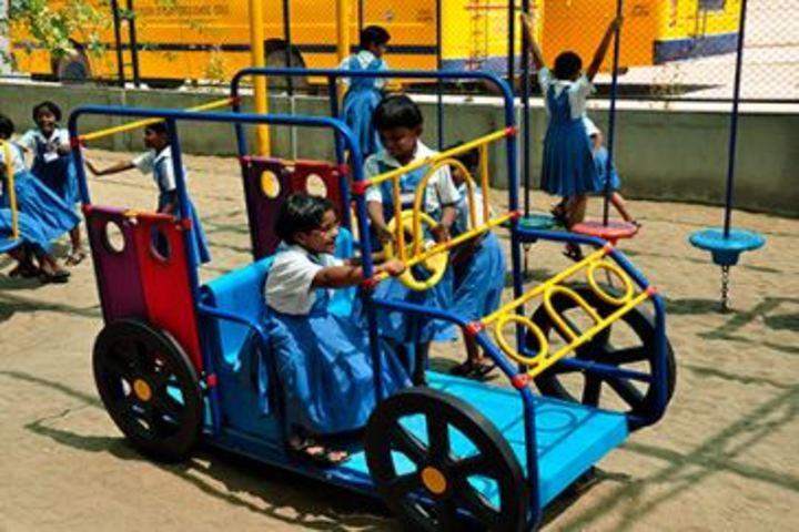 St Joseph of Cluny School-CBSE- Play Area