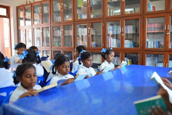 St Joseph of Cluny School-CBSE-Library