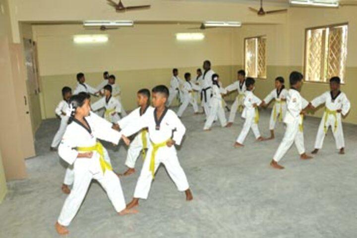 Vaasavi International School-Karate