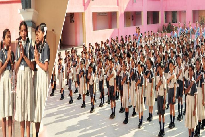 Vivekanandha School-Morning Assembly