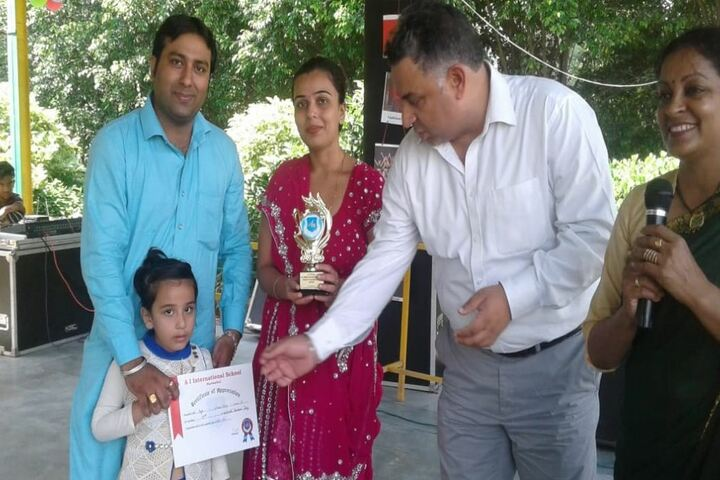 A I International School-Felicitation