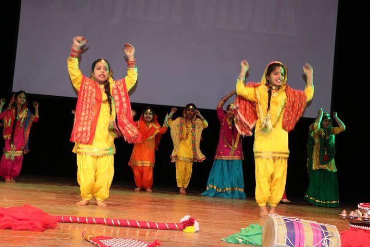 A P J Public School-Cultural Dance