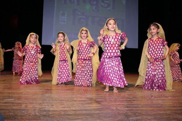 A P J Public School-Dance