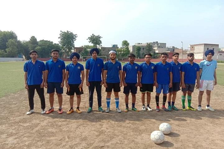 A S Modern School-Football