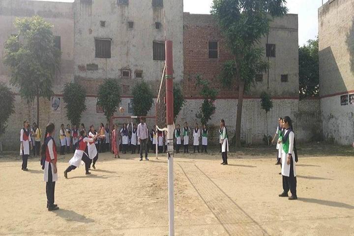 A S Modern School-Volleyball