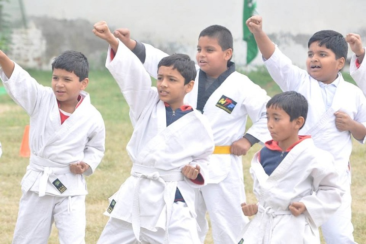 A and Ms Gems Cambridge International School-Karate