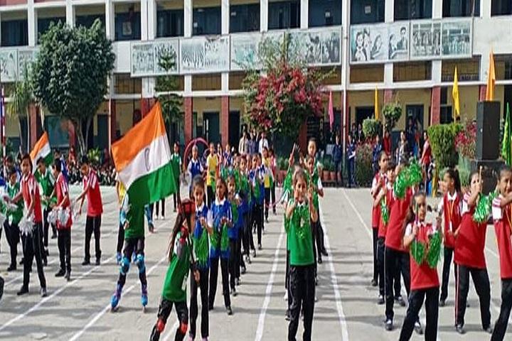 A A R Jain Model Senior Secondary School-Independance Day