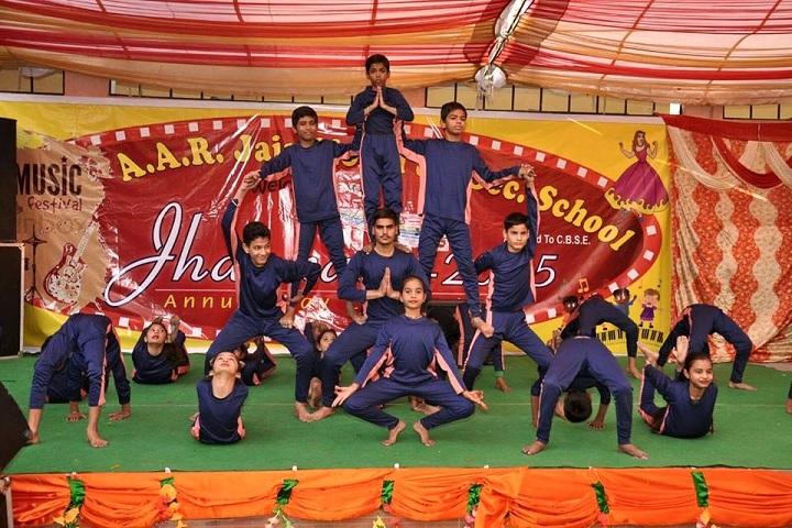 A A R Jain Model Senior Secondary School-Dance