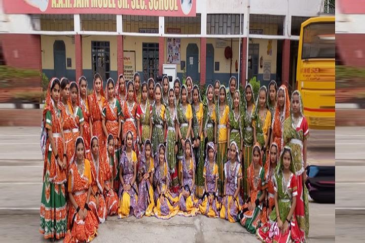 A A R Jain Model Senior Secondary School-Fest