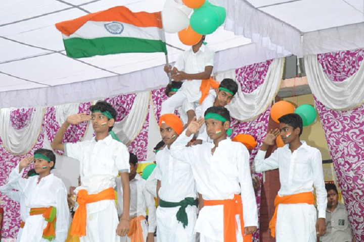 A A R Jain Model Senior Secondary School-Independence day