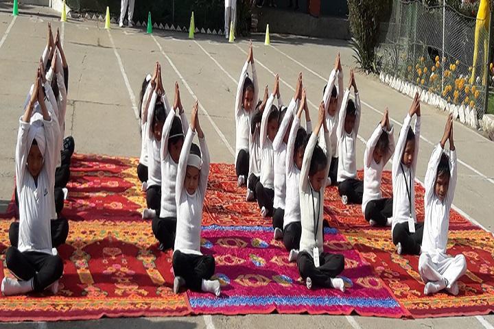 A A R Jain Model Senior Secondary School-Yoga