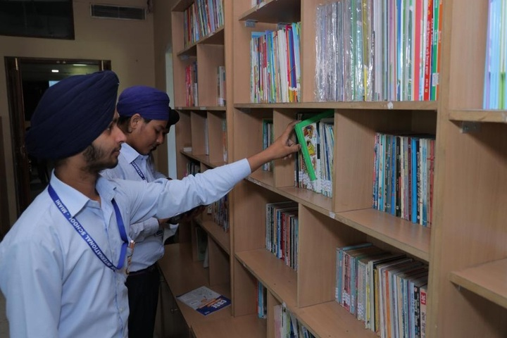 Aadesh International School-Library