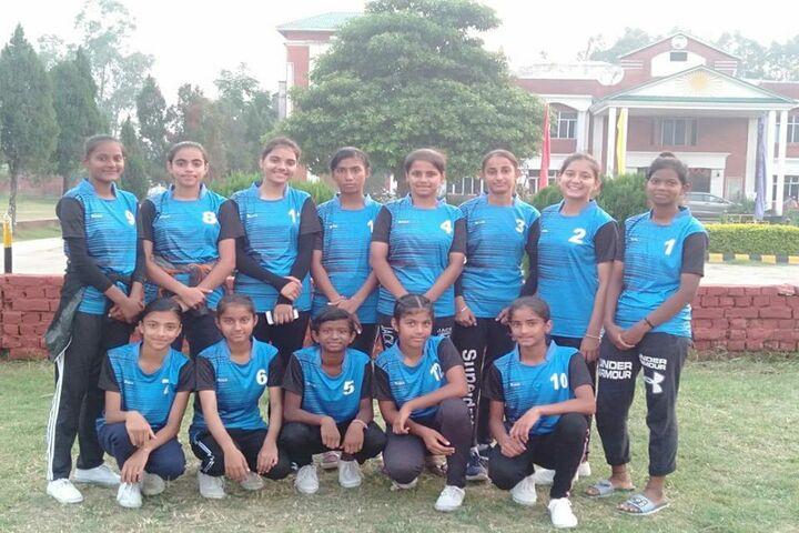 Aadesh International School-Sports Team