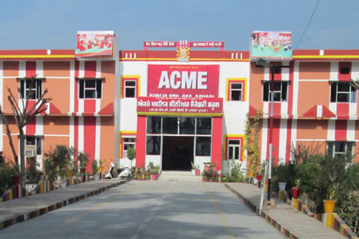 ACME PUBLIC SCHOOL-front view