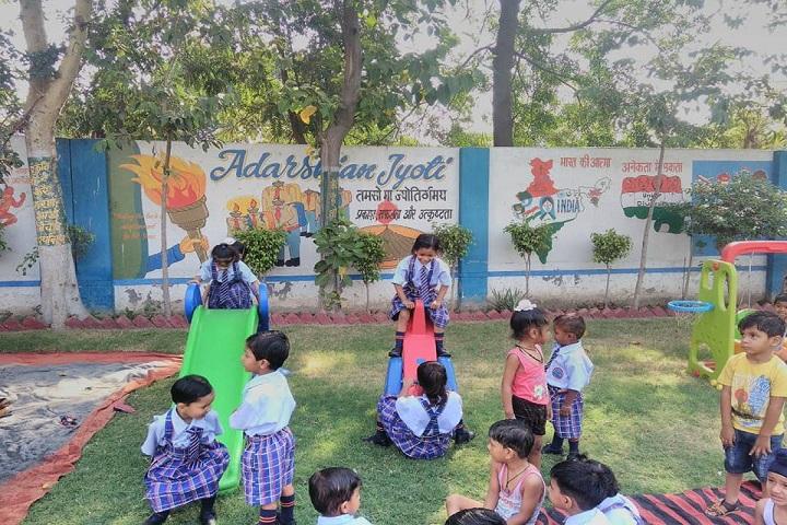 Adarsh Public School-KG play area