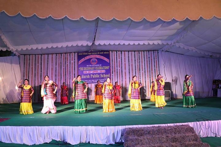 Adarsh Public School-fest